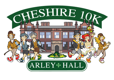 Cheshire 10k at Arley Hall, Warrington